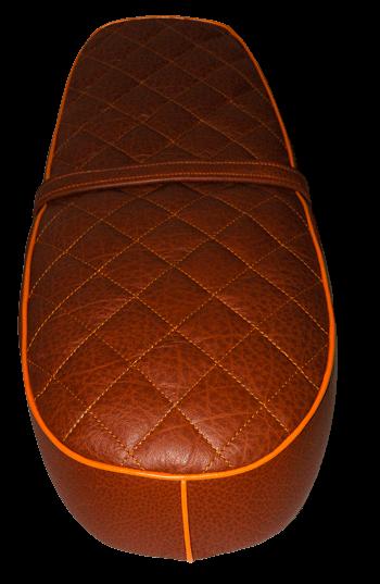 Selle Mash 75 cuir imperméabilisé coloris marron