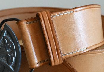 Couture main traditionnelle du cuir