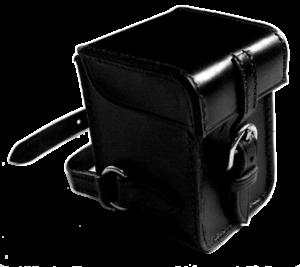 Boîtier de rangement pour bloque disque destiné à une Harley