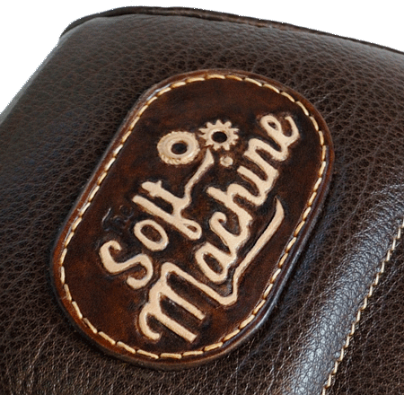 "patch de nez de selle ""The Soft Machine"""