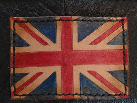 Selle Thunderbird patch Union Jack