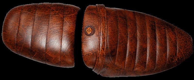 selles en cuir vintage pour Harley Davidson 1200XRr